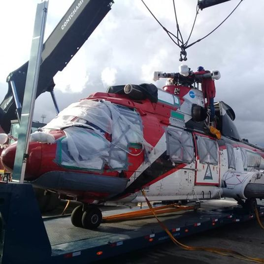 Helicopter Santos to Galveston 1